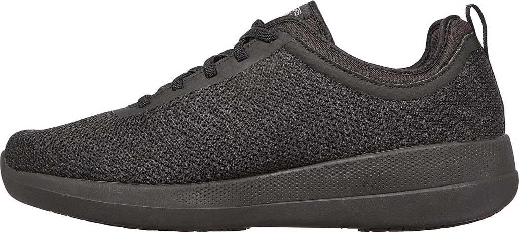 Men's Skechers GOwalk Stability Progress Vegan Sneaker, Black, large, image 3