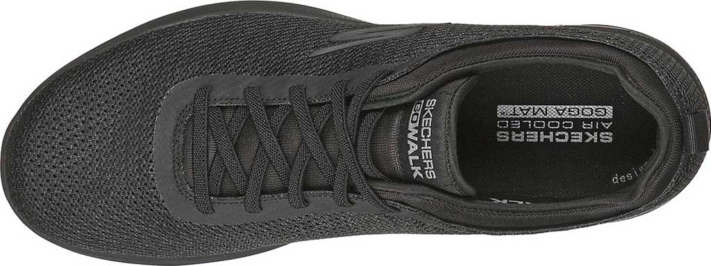 Men's Skechers GOwalk Stability Progress Vegan Sneaker, Black, large, image 4