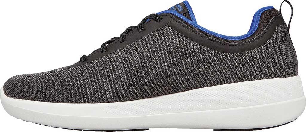 Men's Skechers GOwalk Stability Progress Vegan Sneaker, Black/Blue, large, image 3
