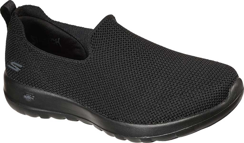 Women's Skechers GOwalk Joy Sensational Day Sneaker, Black/Black, large, image 1