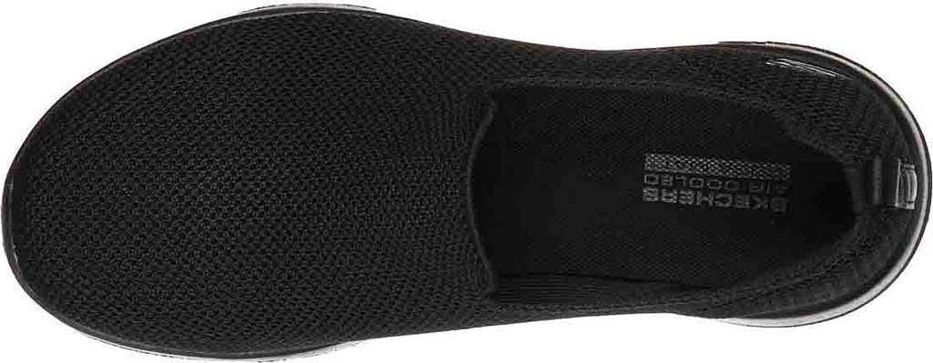 Women's Skechers GOwalk Joy Sensational Day Sneaker, Black/Black, large, image 4