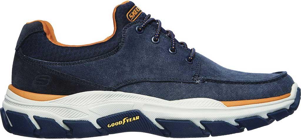Men's Skechers Relaxed Fit Respected Loleto Sneaker, Navy, large, image 2