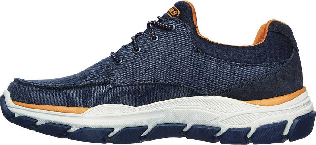 Men's Skechers Relaxed Fit Respected Loleto Sneaker, Navy, large, image 3