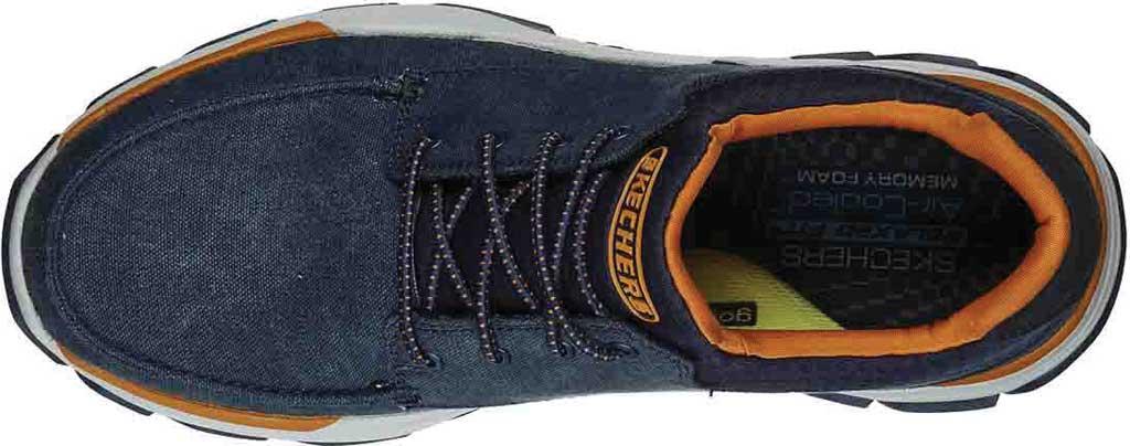 Men's Skechers Relaxed Fit Respected Loleto Sneaker, Navy, large, image 4