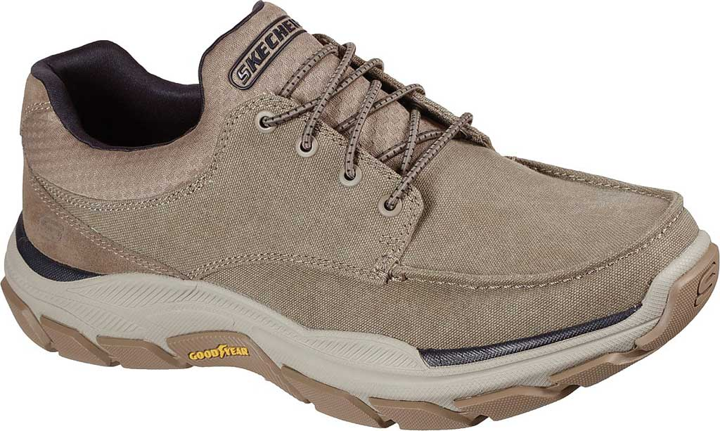 Men's Skechers Relaxed Fit Respected Loleto Sneaker, Taupe, large, image 1
