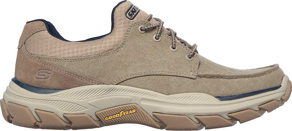 Men's Skechers Relaxed Fit Respected Loleto Sneaker, Taupe, large, image 2