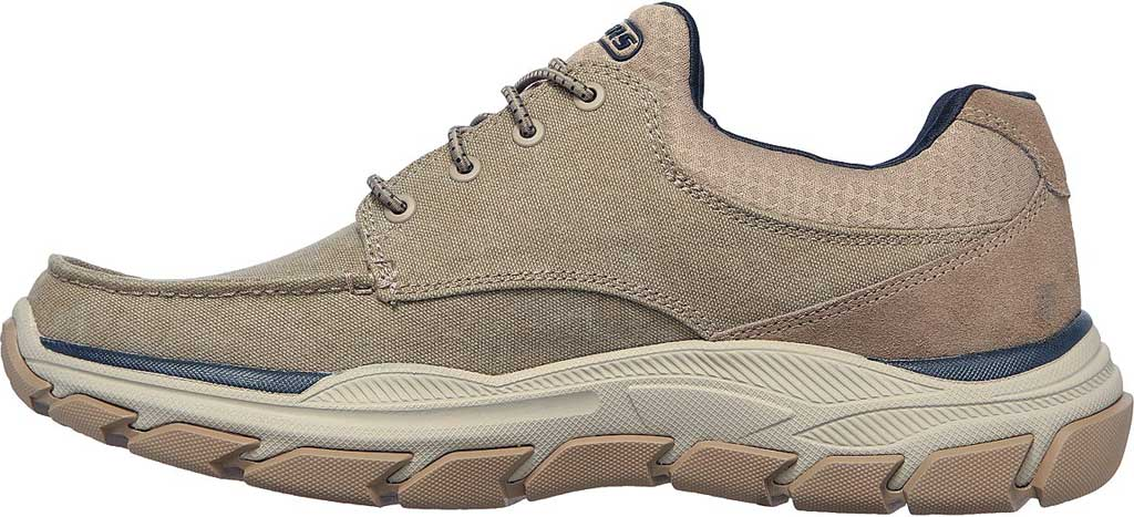 Men's Skechers Relaxed Fit Respected Loleto Sneaker, Taupe, large, image 3