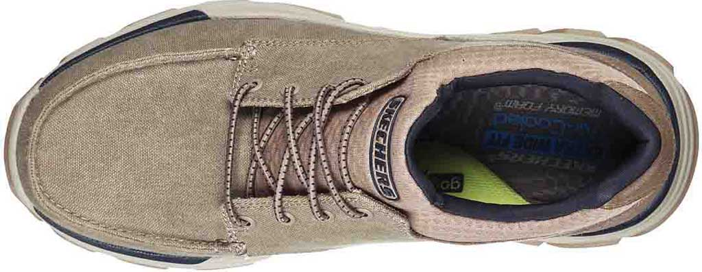 Men's Skechers Relaxed Fit Respected Loleto Sneaker, Taupe, large, image 4
