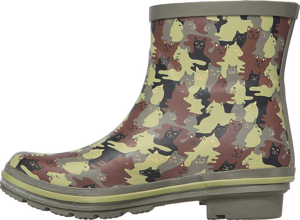 Women's Skechers BOBS Rain Check Catmo Shower Rain Boot, Camouflage, large, image 3