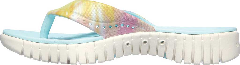 Women's Skechers Foamies GOwalk Smart Chillaxin Flip Flop, Multi, large, image 3