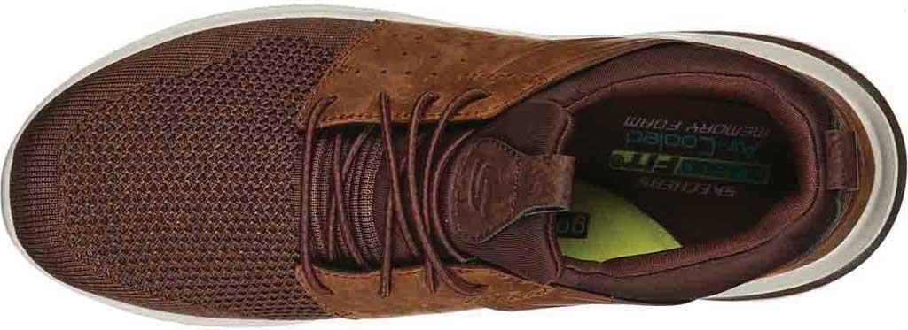 Men's Skechers Delson 3.0 Cicada Sneaker, Chocolate Dark Brown, large, image 4
