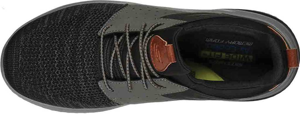 Men's Skechers Delson 3.0 Cicada Sneaker, Black/Gray, large, image 4