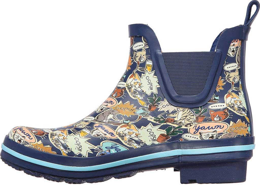 Women's Skechers BOBS Rain Check Shower Power Rain Boot, Navy/Multi, large, image 3