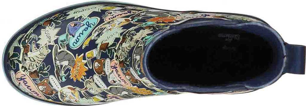 Women's Skechers BOBS Rain Check Shower Power Rain Boot, Navy/Multi, large, image 4