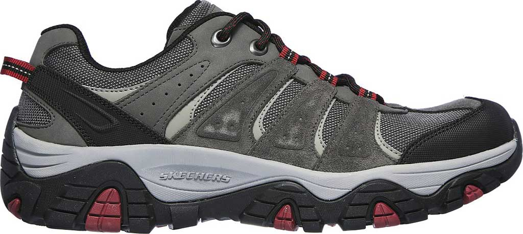 Men's Skechers Relaxed Fit Pine Trail Kordova Running Sneaker, Charcoal, large, image 2