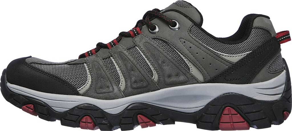 Men's Skechers Relaxed Fit Pine Trail Kordova Running Sneaker, Charcoal, large, image 3