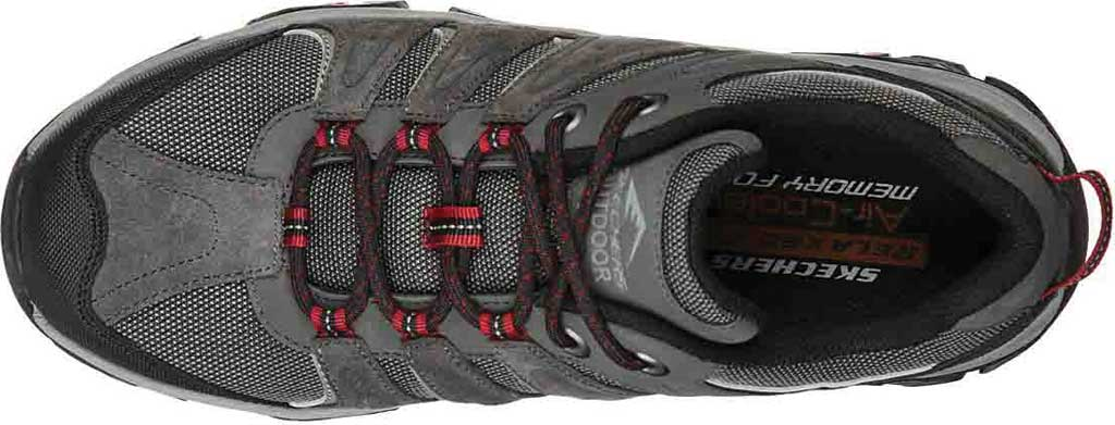 Men's Skechers Relaxed Fit Pine Trail Kordova Running Sneaker, Charcoal, large, image 4