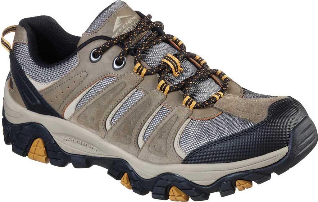 Men's Skechers Relaxed Fit Pine Trail Kordova Running Sneaker, Tan, large, image 1