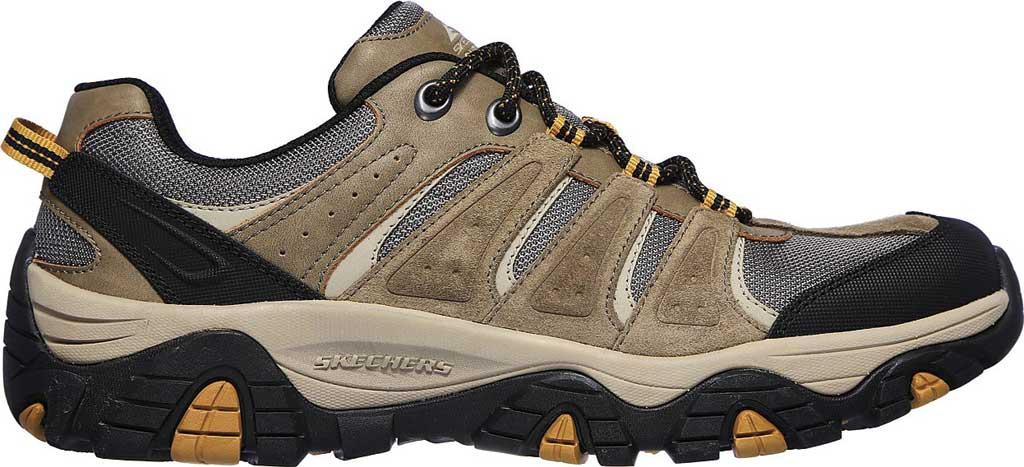 Men's Skechers Relaxed Fit Pine Trail Kordova Running Sneaker, Tan, large, image 2