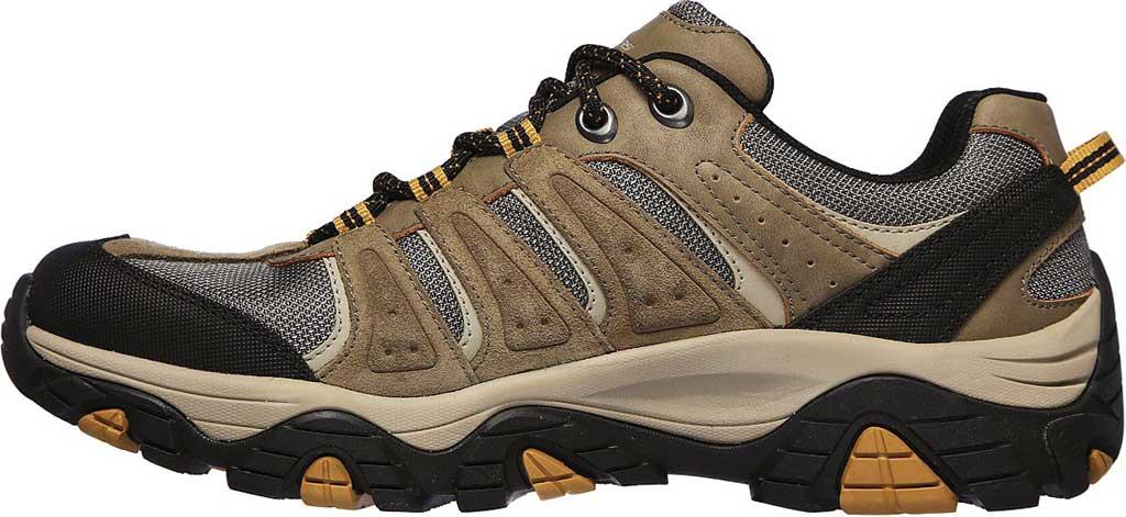 Men's Skechers Relaxed Fit Pine Trail Kordova Running Sneaker, Tan, large, image 3