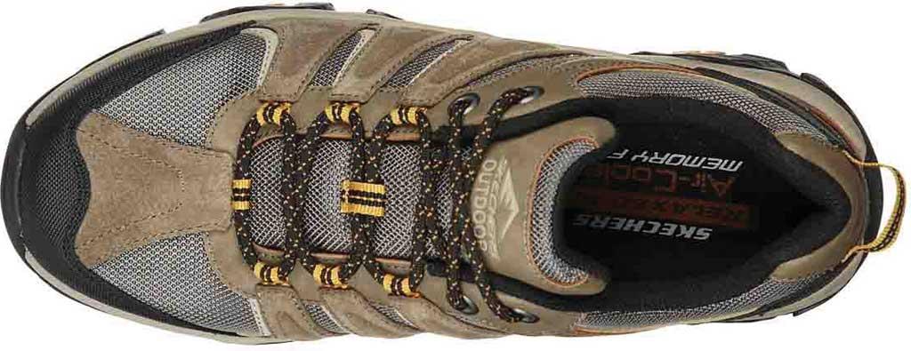Men's Skechers Relaxed Fit Pine Trail Kordova Running Sneaker, Tan, large, image 4