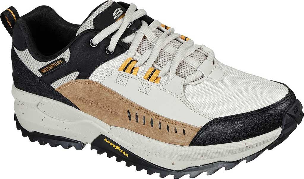 Men's Skechers Bionic Trail Road Sector Sneaker, Taupe/Black, large, image 1
