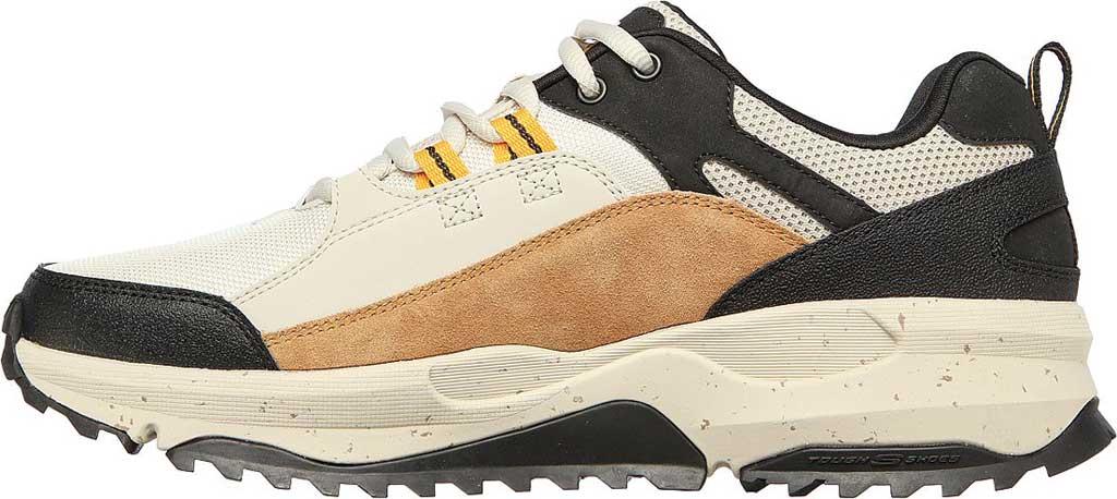 Men's Skechers Bionic Trail Road Sector Sneaker, Taupe/Black, large, image 3