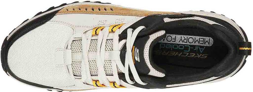 Men's Skechers Bionic Trail Road Sector Sneaker, Taupe/Black, large, image 4