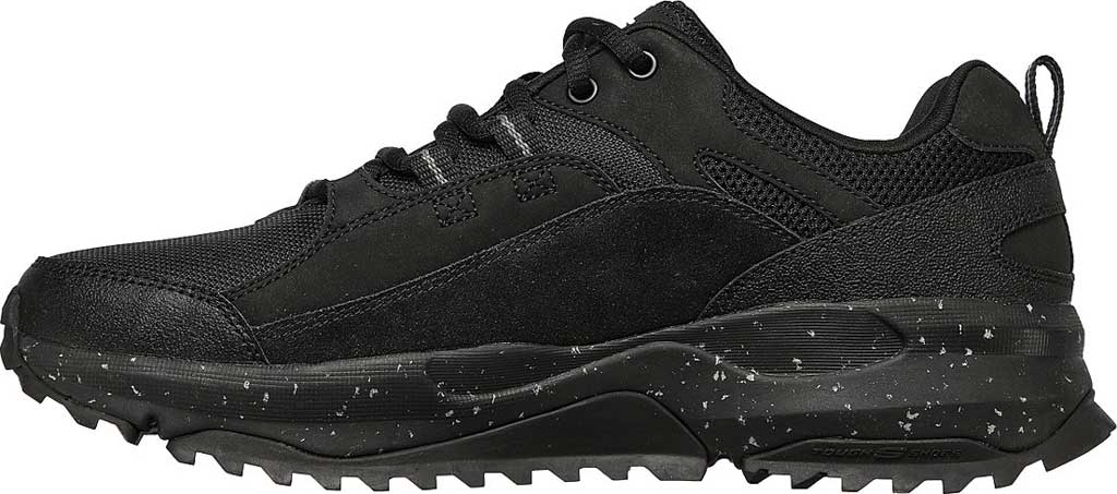 Men's Skechers Bionic Trail Road Sector Sneaker, Black/Black, large, image 3