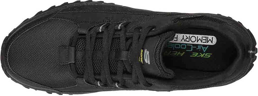 Men's Skechers Bionic Trail Road Sector Sneaker, Black/Black, large, image 4