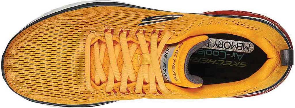 Men's Skechers Glide Step Sport Wave Heat Sneaker, Yellow, large, image 4