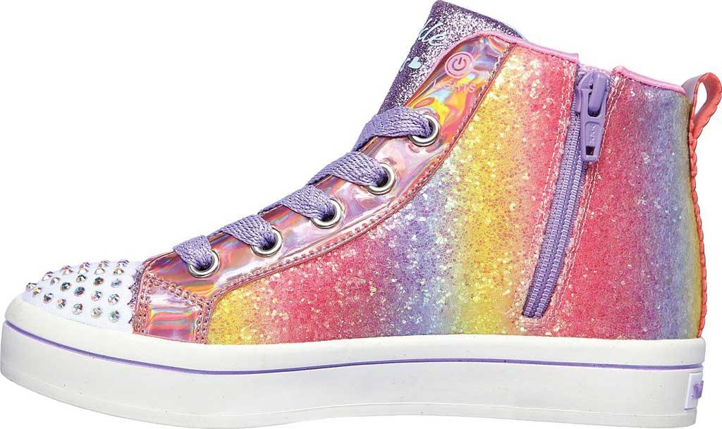 Girls' Skechers Twinkle Toes Twi-Lites 2.0 Heart Gem Sneaker, Multi, large, image 3