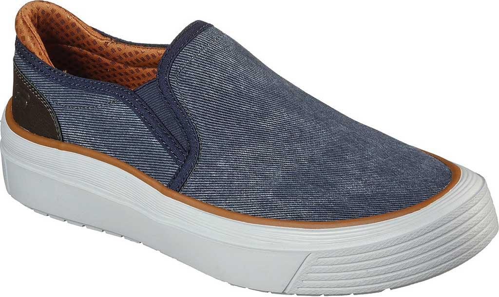 Men's Skechers Viewport Romell Sneaker, Navy, large, image 1