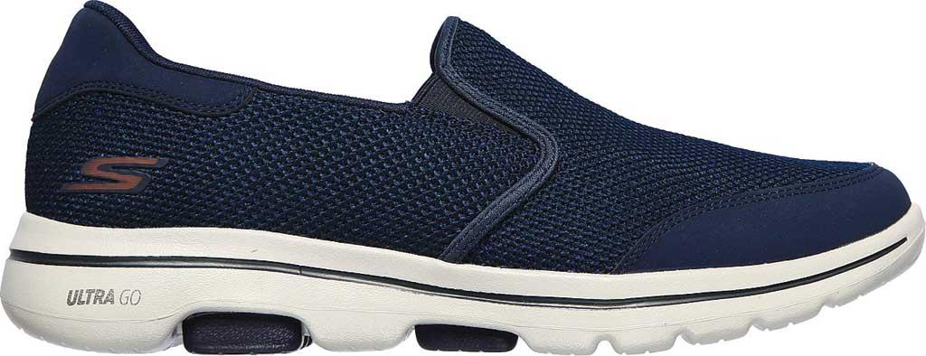 Men's Skechers GOwalk 5 Beeline Sneaker, Navy, large, image 2