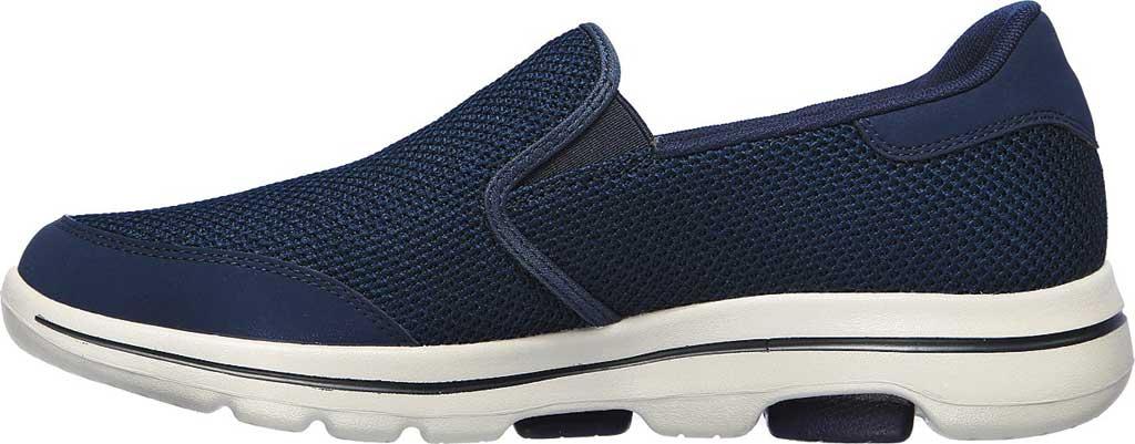 Men's Skechers GOwalk 5 Beeline Sneaker, Navy, large, image 3