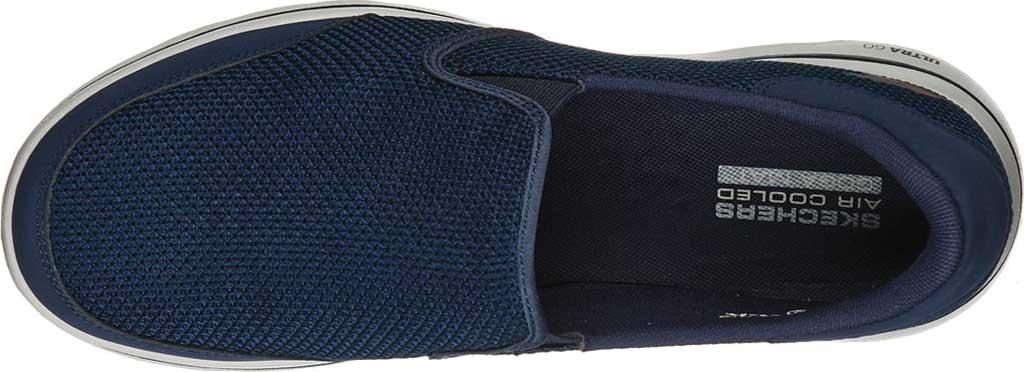 Men's Skechers GOwalk 5 Beeline Sneaker, Navy, large, image 4