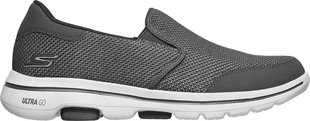 Men's Skechers GOwalk 5 Beeline Sneaker, Gray, large, image 2