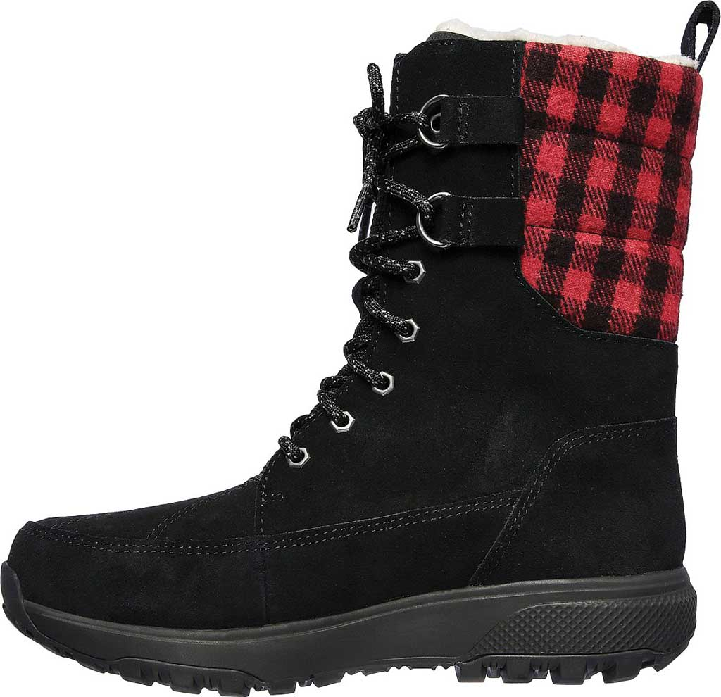 Women's Skechers On the GO Outdoor Ultra Venture Waterproof Boot, Black/Red, large, image 3