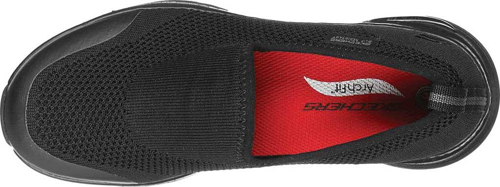 Women's Skechers Work Arch Fit Slip Resistant Absidy Sneaker, Black, large, image 4