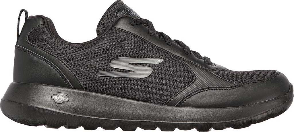 Men's Skechers GOwalk Max Painted Sky Sneaker, Black/Black, large, image 2