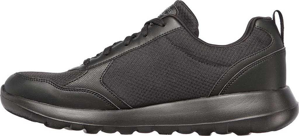 Men's Skechers GOwalk Max Painted Sky Sneaker, Black/Black, large, image 3