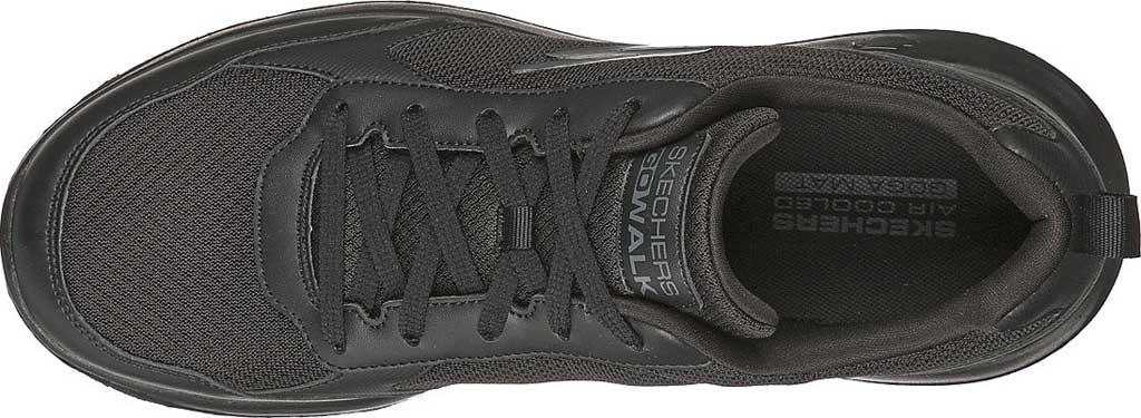 Men's Skechers GOwalk Max Painted Sky Sneaker, Black/Black, large, image 4