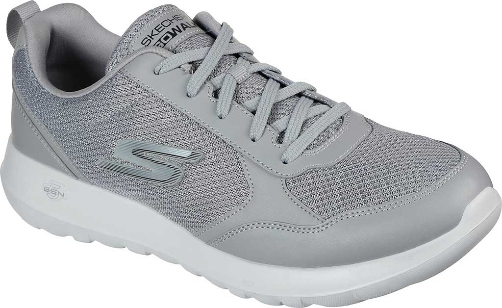 Men's Skechers GOwalk Max Painted Sky Sneaker, Gray, large, image 1