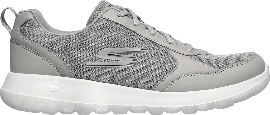 Men's Skechers GOwalk Max Painted Sky Sneaker, Gray, large, image 2