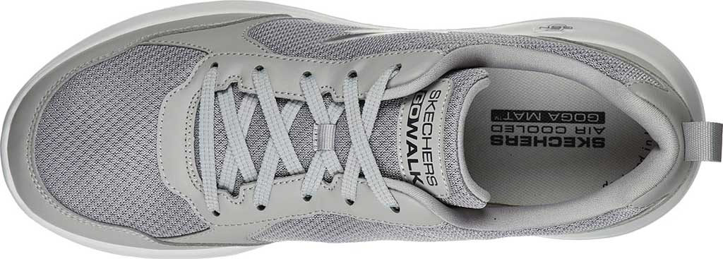 Men's Skechers GOwalk Max Painted Sky Sneaker, Gray, large, image 4