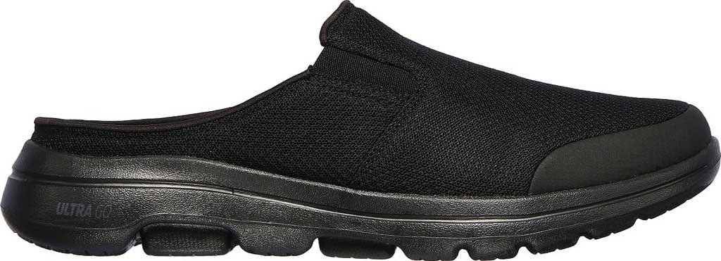 Men's Skechers GOwalk 5 Exposure Backless Sneaker, Black/Black, large, image 2