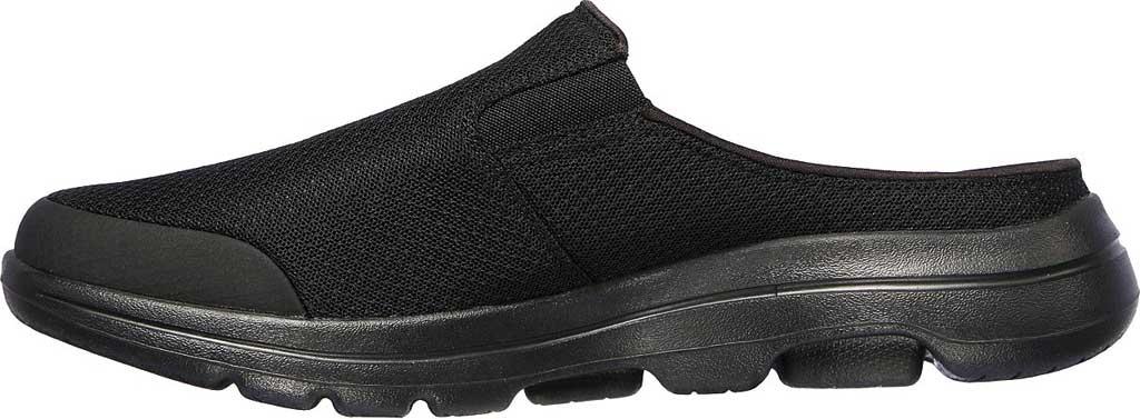 Men's Skechers GOwalk 5 Exposure Backless Sneaker, Black/Black, large, image 3