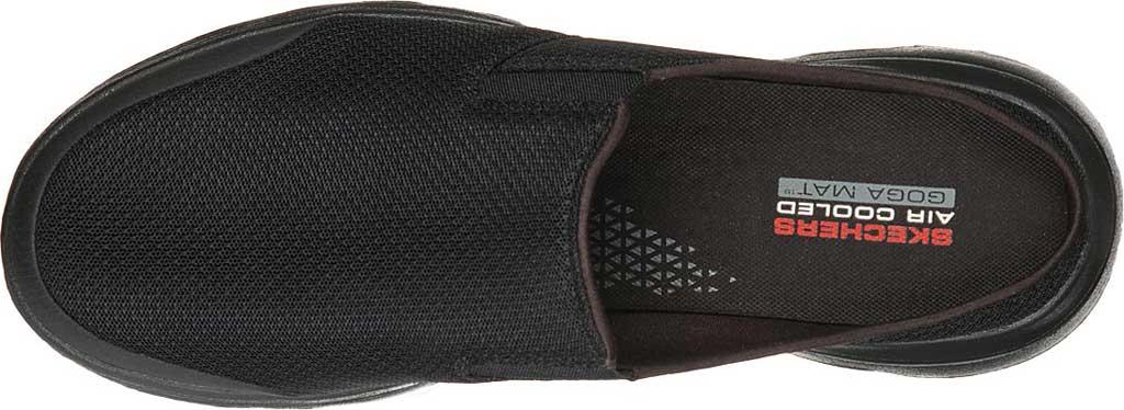 Men's Skechers GOwalk 5 Exposure Backless Sneaker, Black/Black, large, image 4