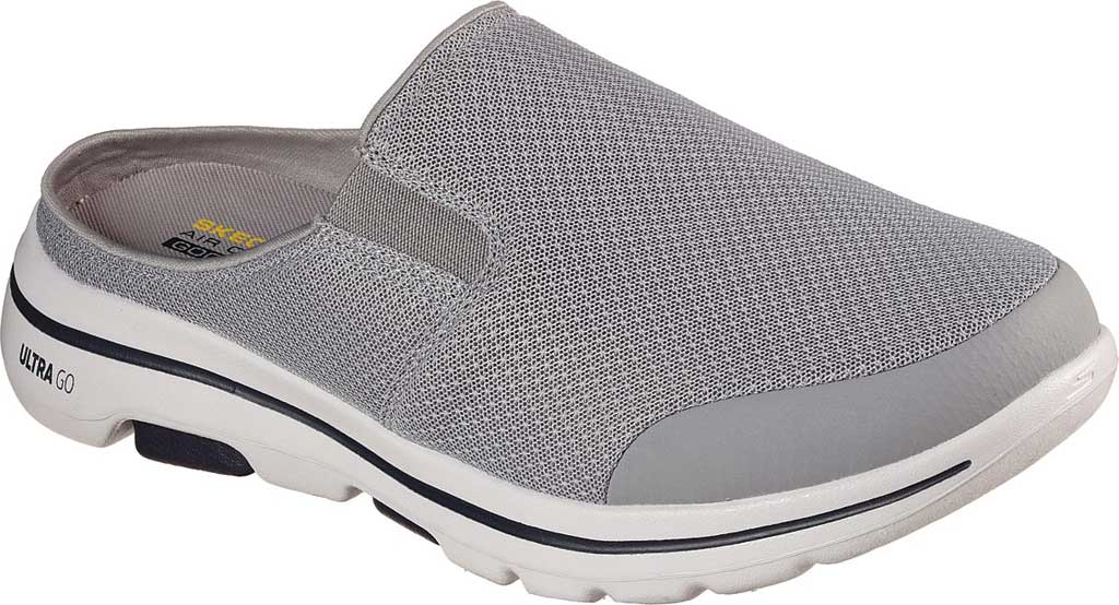 Men's Skechers GOwalk 5 Exposure Backless Sneaker, Gray, large, image 1