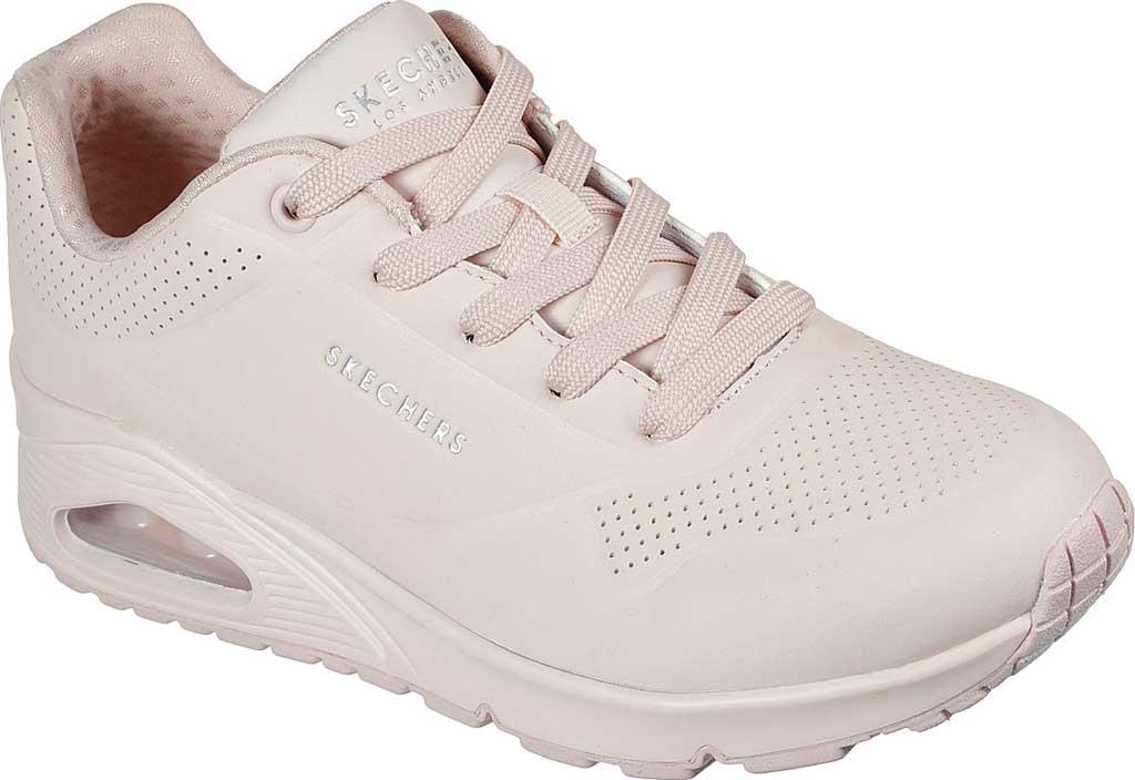 Women's Skechers Uno Frosty Kicks Sneaker, Light Pink, large, image 1